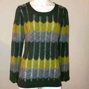 Chick-Knits crochet sweater